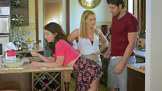 Joseline Kelly  Natasha Nice in Oops, I Made a Mess! - StepMomLessons