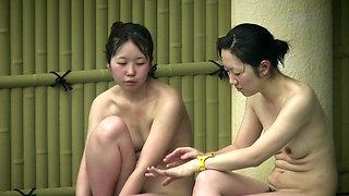 Japanese Onsen Spa Voyeur 4