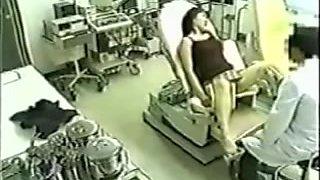 Medical voyeur cam shooting Japanese college girls
