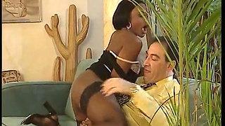 The maid is made - IR anal