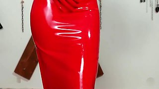 Latex Red Passion Smoking
