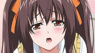 Hot schoolgirl fucking in a public bathroom - Uncensored