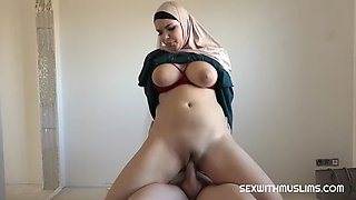 Big tit muslim house warming
