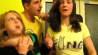 Drunken party girls