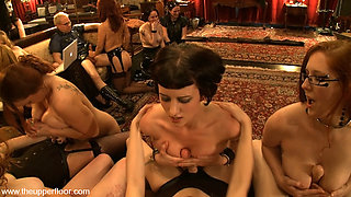Cherry Torn & Mellanie Monroe & Bella Rossi & Nerine Mechanique in Big Tits Event - TheUpperFloor