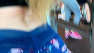 FULL SCENE TEEN Kenzie Madison Twerks at Gym and Gets FUCKED