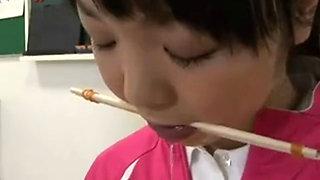 Japanese Schoolgirl Tied And Fucked in Classroom