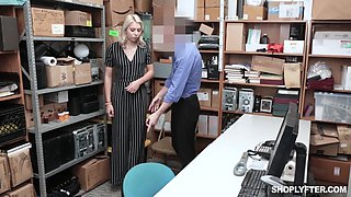 Chanel Grey gets a hardcore fuck and a cum shot in the office