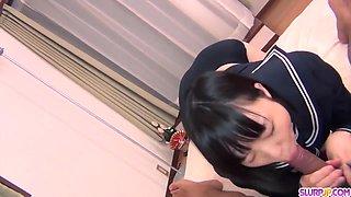 Schoolgirl Yuri Sakurai amazing sex on live cam - More at Slurpjp.com
