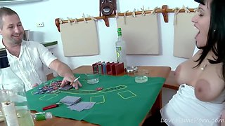 Poker Game Quickly Gets Hot And Horny