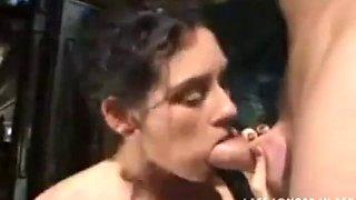 Sexy school bus driver seduces student