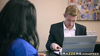 Brazzers - Big Tits at Work -  Load For A Loan scene starring Simone Garza and Danny D
