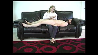 Mistress humiliates her pathetic slave boy
