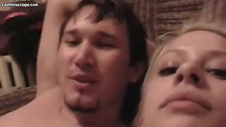 The sextape of amateur russian couple