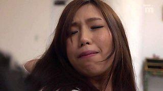 Ai Sayama in Ai Fucks Her Boss Next To Her Sleeping Husband - EritoAvStars