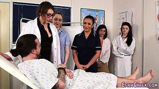 Cfnm nurse domina jerks