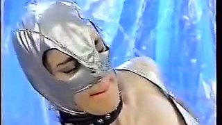 Hot group sex video with hardcore latex porn scenes