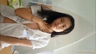 chinese model posing ***