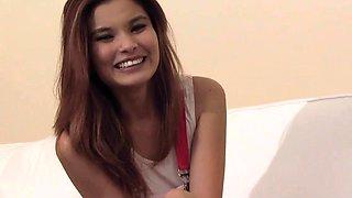 Miyuki Son is a cute Asian girl. She has a pair of perfect