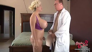 Big Tit Fucked - Doctor - Claudia Marie