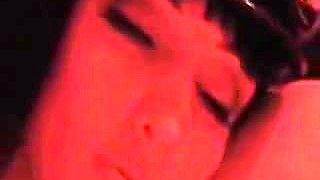 red latex gloryhole and masturbation