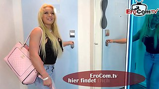 Real german blonde housewife milf make userdate with bbc