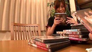 Horny Japanese chick Natsume Inagawa in Amazing Massage, Interracial JAV video