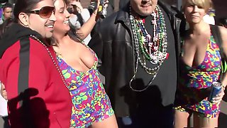 Crazy pornstar in best piercing, striptease porn clip