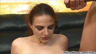 Nikki Nievez extreme Deepthroat & DP