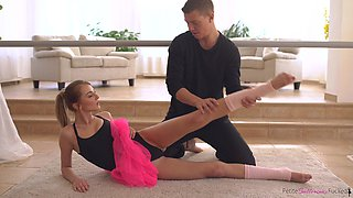 her flexibility knows no bounds
