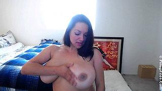 Monica Mendez on WebCam