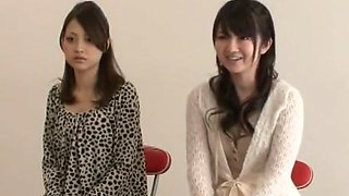 Exotic Japanese slut Aya Kiriya, Yurie Shinohara, Michiru Kobayashi in Fabulous Group Sex, Blowjob JAV movie