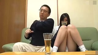 Japanese father ambush his daughter for sex 2