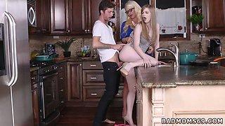 cronys duddy takes down step mom and milf seduces innocent girl xxx My pals step