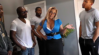 Amber Lynn Bach By Blacks On Cougars