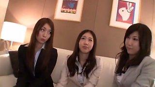 Fabulous Japanese girl Minami Kijima, Mika Osaki, Chisato Ayukawa in Best Secretary, Hardcore JAV clip