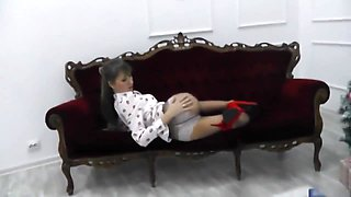Amateur Leg, Heels and Pantyhose Fetish Video