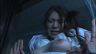 Perverted patient seduces Runa Tominaga for sex at night