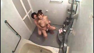 When Azusa Nagasawa was taking a bathroom......