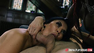 Jasmine Jae and Jasmine Webb want to feel a hot man's boner