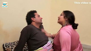 Daba Ke Chus Daalo In Santro Ko - Big Boob Press And Cock Touch