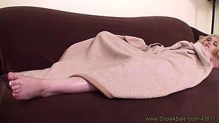 sleeping foot