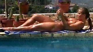 Hot Bodied Beautiful Milf Loves Fucking By The Pool
