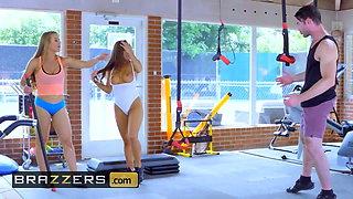 Big TITS in Sports - Abigail Mac Nicole Aniston Charles Dera