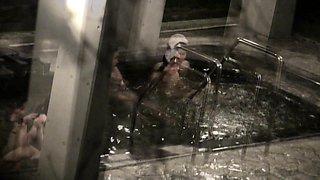 Enchanting Japanese babe enjoys a nice bath on hidden cam