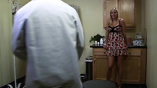 Sweet porn chick BiBi Jones gets banged hardcore in the hospital