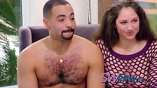 American duo swaps partners in sexual orgy adventure. new episodes of swraw.com available now!