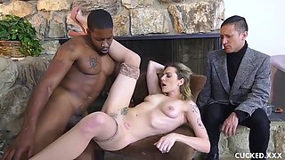 Dahlia sky is tired of her worthless cucked husband so she gets some bbc