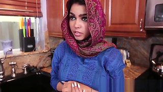 Arabic teenager railed