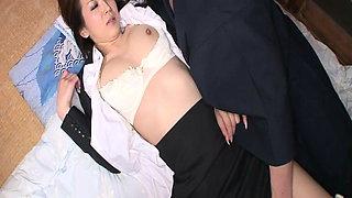 Japanese secretary cheats on her husband